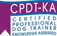 Certified Professional Dog Trainer Knowledge Assessed Badge - Doggy Day Care in Allentown, PA